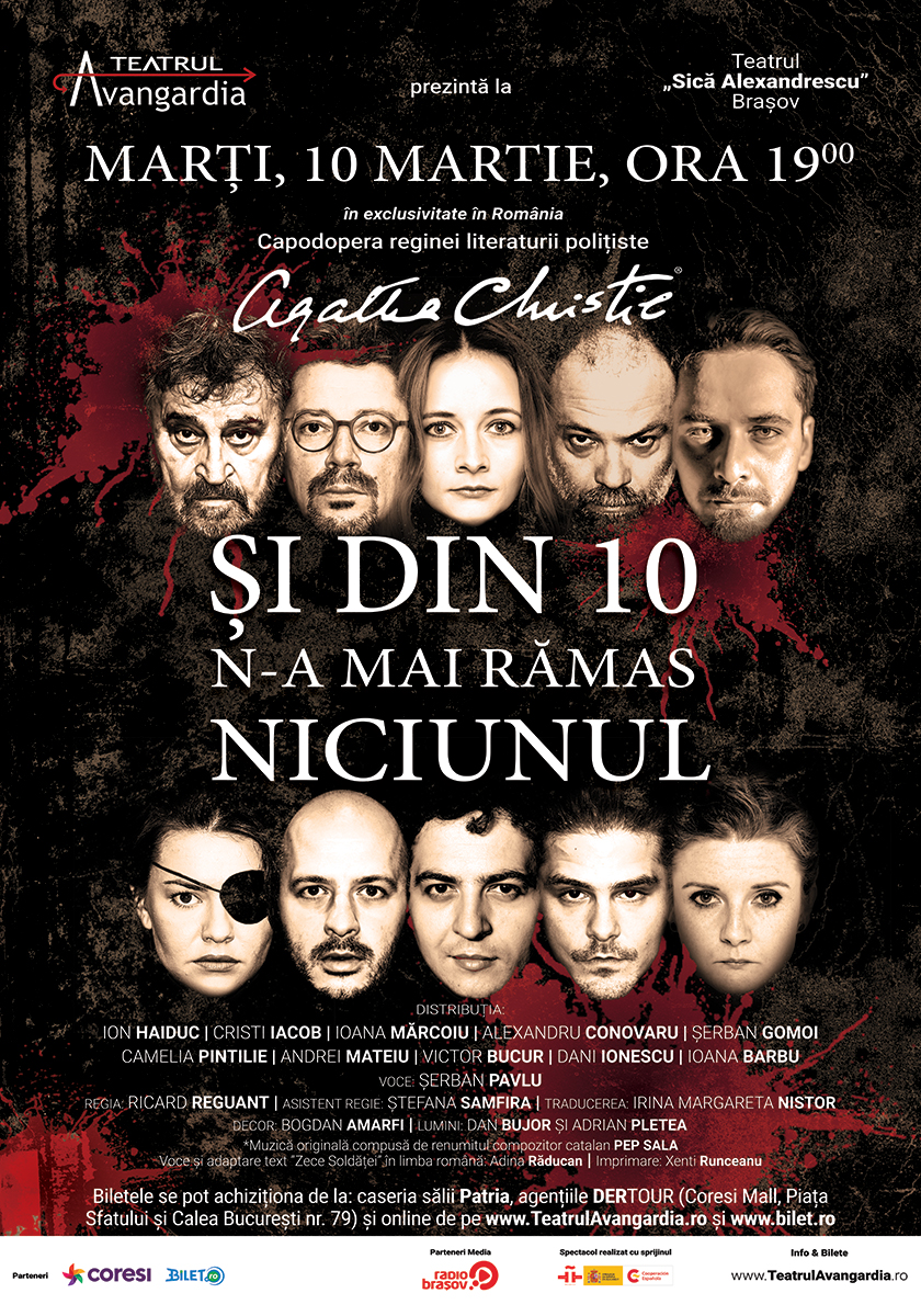 Poster - Si din 10 n-a mai ramas niciunul