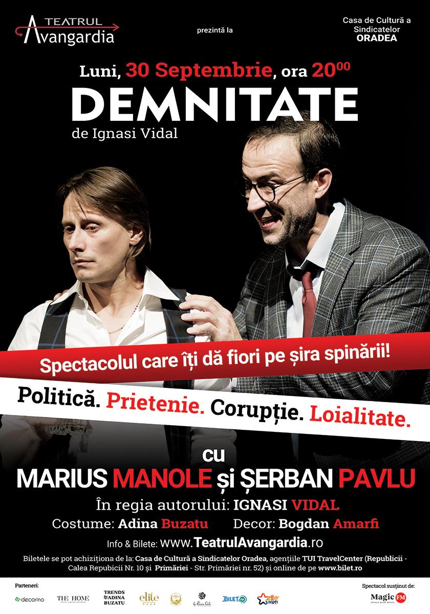 Demnitate - poster Oradea